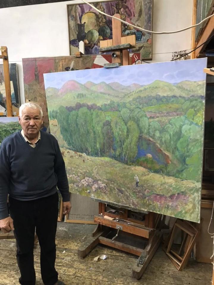 В гостях у художника Рифа Абдуллина