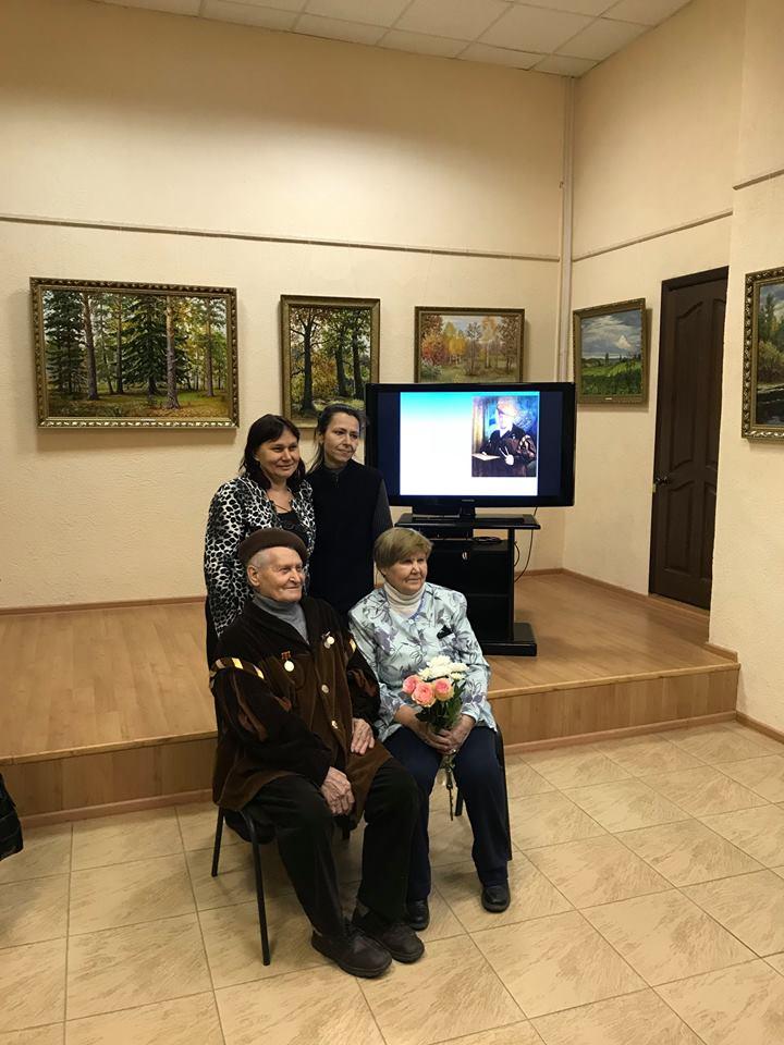 «Творю от сердца и души!». На открытии персональной выставки художника Виктора Кириченко