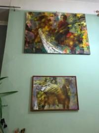 Самая уютная мастерская художников Бориса и Ольги Самосюк