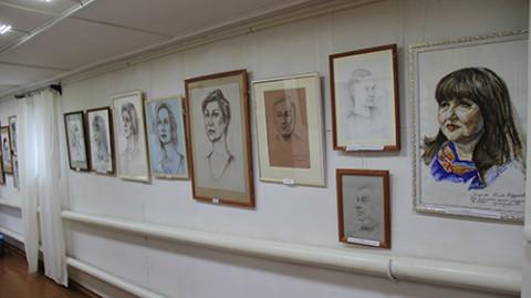 """""""Рисовальные дни"""", выставка"""