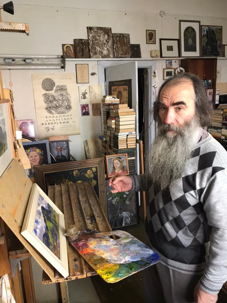 Сергей Маджар бережно хранит традиции башкирской живописи