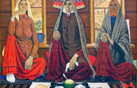 """""""Три женщины"""", Ахмат Лутфуллин"""