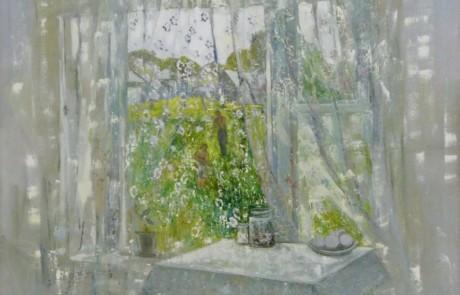 «Большое деревенское окно», Инна Калабухова
