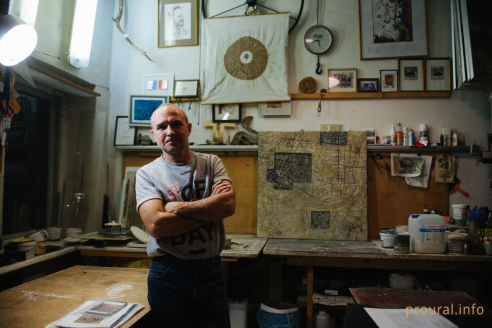 """""""Независимая уральская газета"""" о художнике Ринате Миннебаеве"""