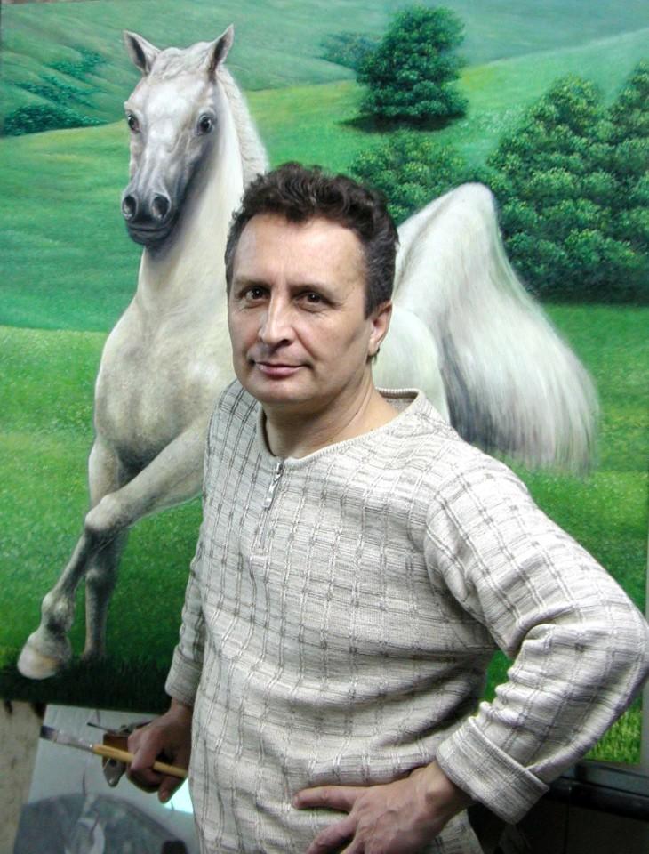 Художник Рауфат Нигматуллин: «Хочется внести в мир больше красок, радости и доброты.»