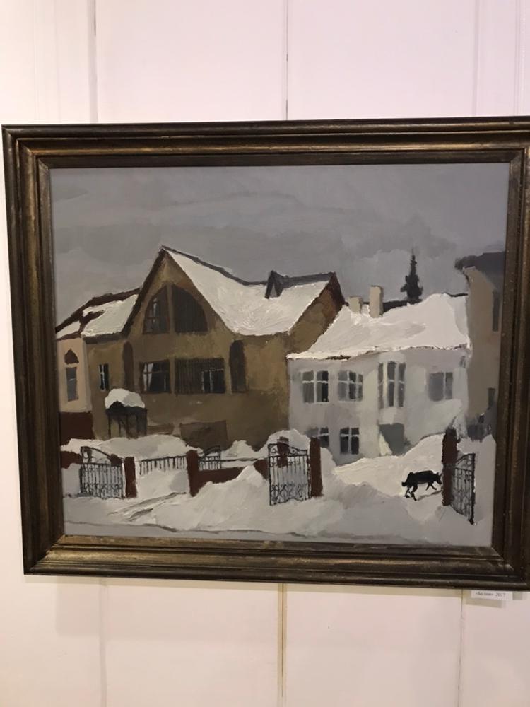 Персональная выставка молодого уфимского художника Артема Новоселова