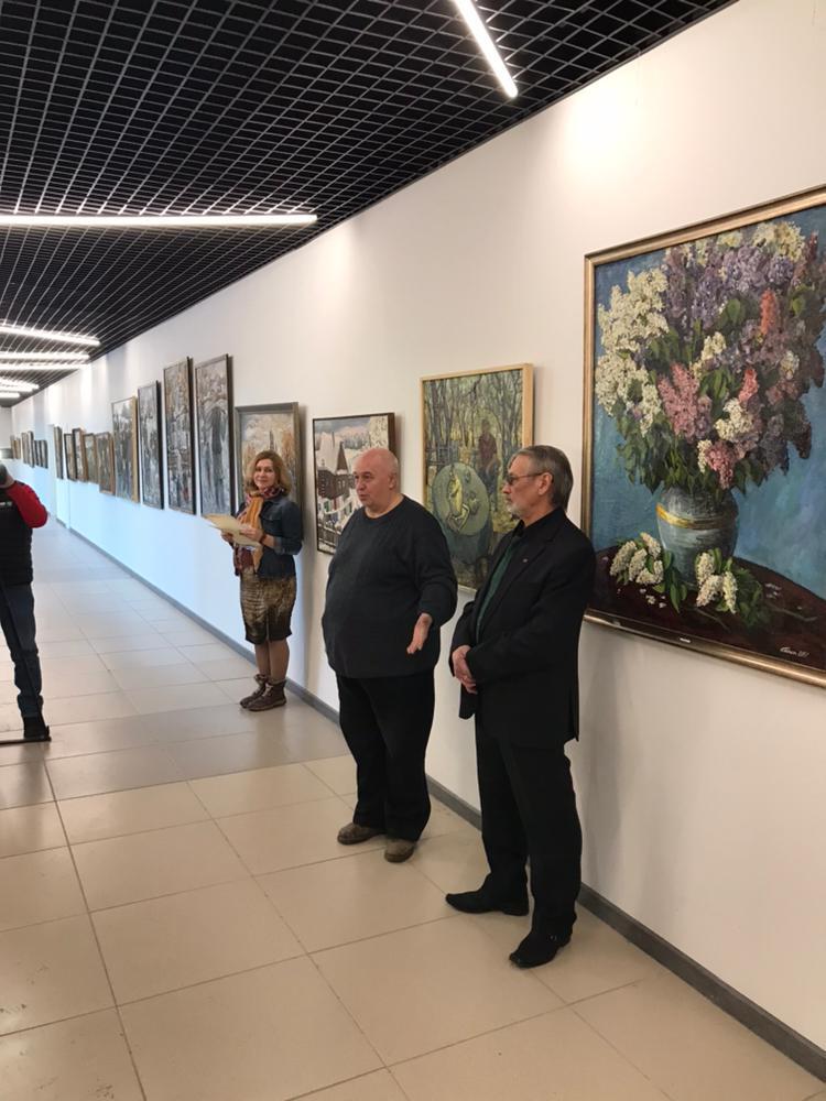 Открытие персональной выставки художника Сагита Гималетдинова