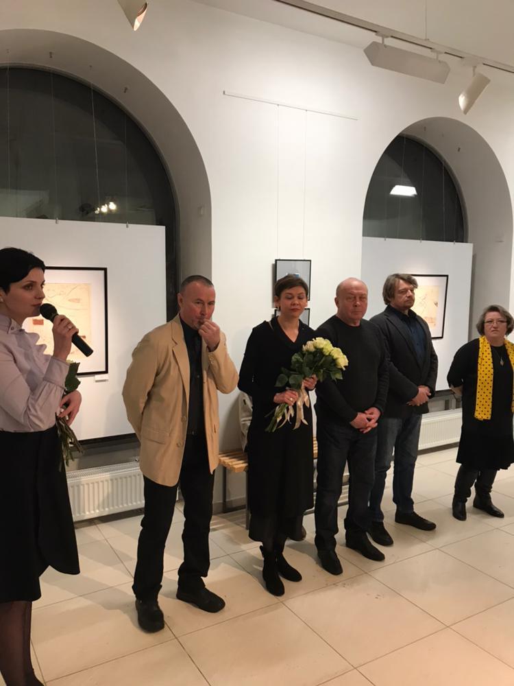 «Зеркальный мост» в галерее «Мирас»: открытие выставки печатной графики