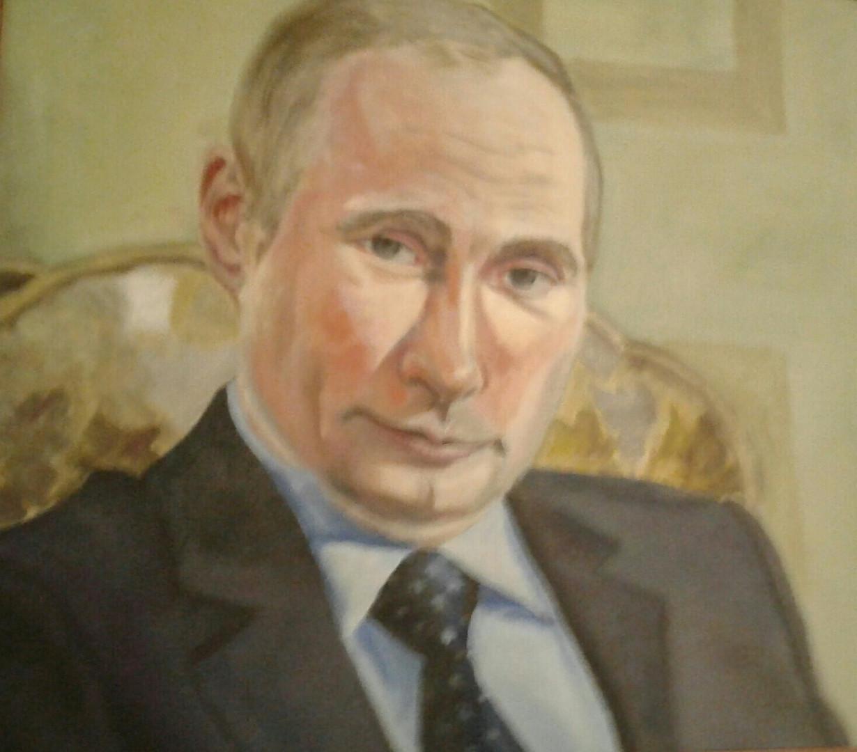 """Портрет"", Татьяна Буканина, 2014, холст, масло, 40х50"