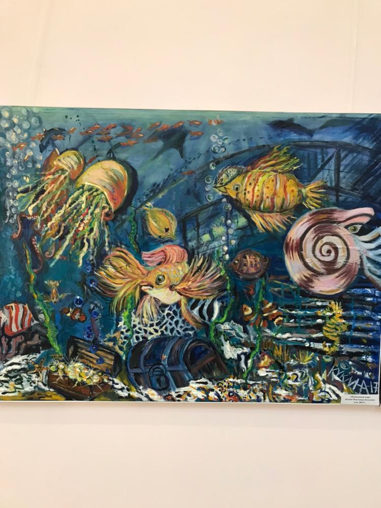 Открытие выставки башкирских художников в Чишминском районном музее