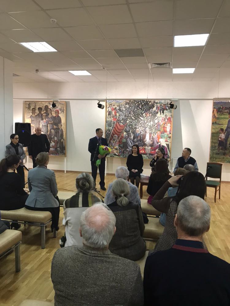 В музее им. Нестерова открылась выставка, посвященная 90-летию башкирского художника Ахмата Лутфуллина