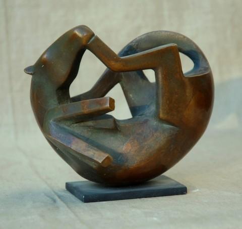 «Лошадка», Радик Хусаинов, 1993, бронза, 19 см