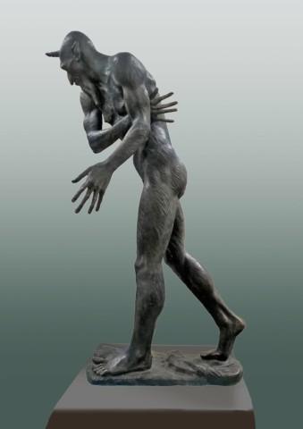 «Шурале», Радик Хусаинов, 2017, бронза, 98 см