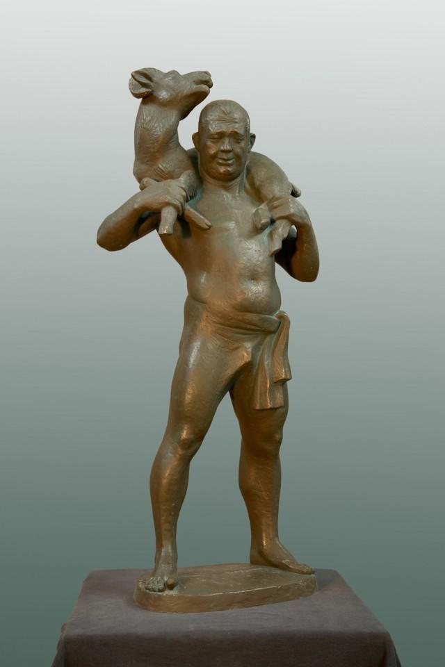 «Сабантуй», Радик Хусаинов, 2010, полимер, 95 см