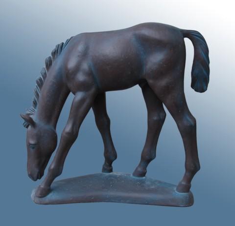 «Полдень», Радик Хусаинов, 2005, полимер, 42 см