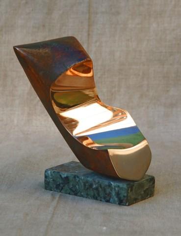 «Торс», Радик Хусаинов, 1994, бронза, гранит, 18 см