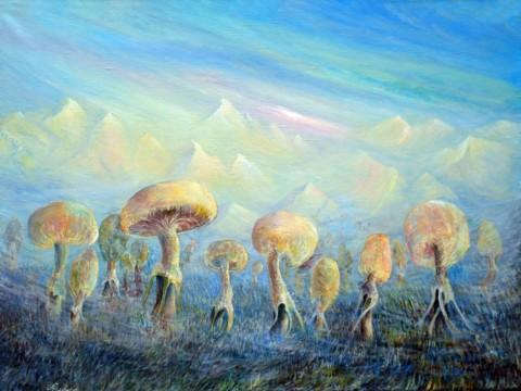 «Планета Грипиус», Дмитрий Павлов, 2010, холст, масло, 80х60