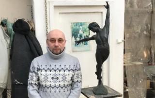 Экскурсия в мастерскую башкирского скульптора Рустэма Хасанова