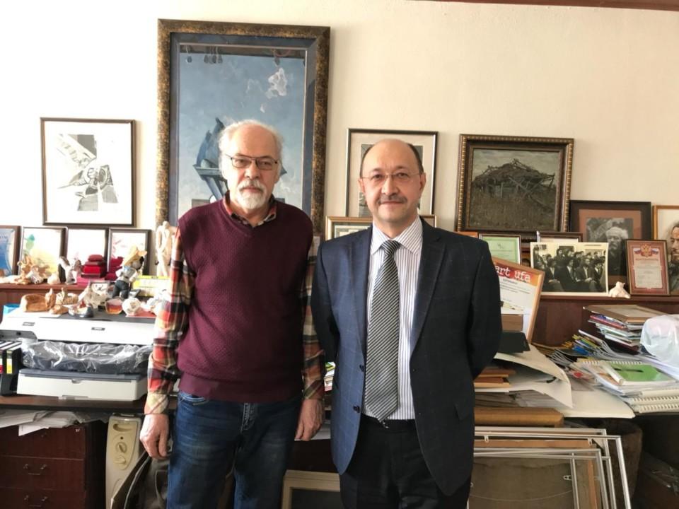 Поездка в Стерлитамак: встреча с легендарным директором художественной школы Владимиром Курбатовым