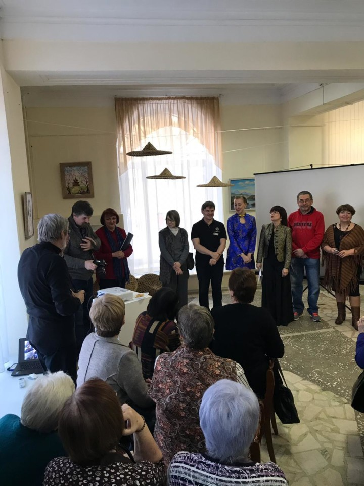Открытие выставки группы башкирских художников «АРТ-Путь. Расширяя границы через искусство»