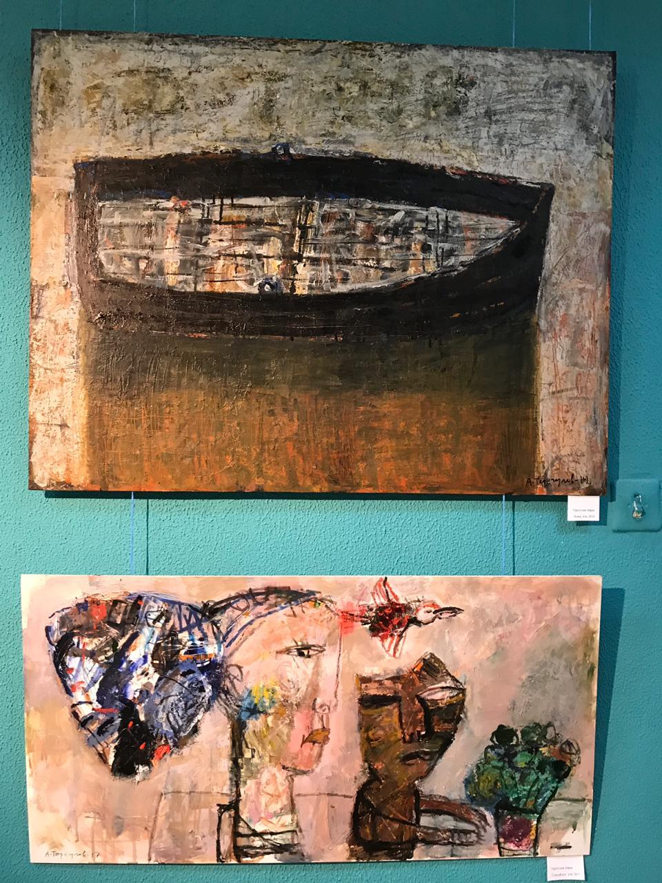 Открытие выставки «ПЛАТО» в Центральной выставочной галерее Уфы