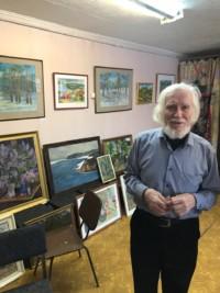 В гостях у художника Владимира Сирина
