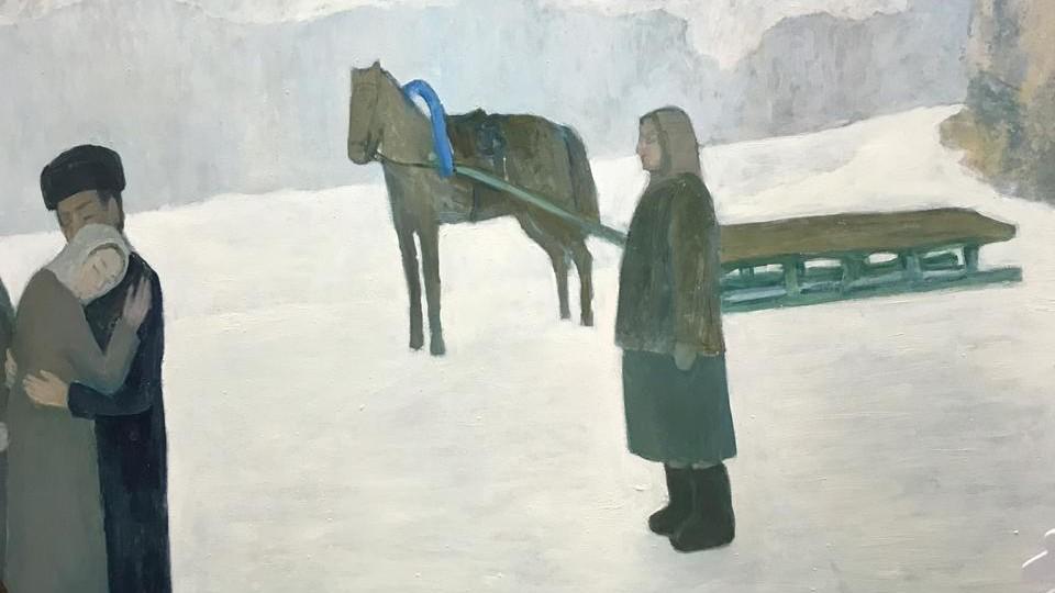 Открытие выставки посвященной 60-летию башкирского художника Айрата Баймухаметова (1958-2015)