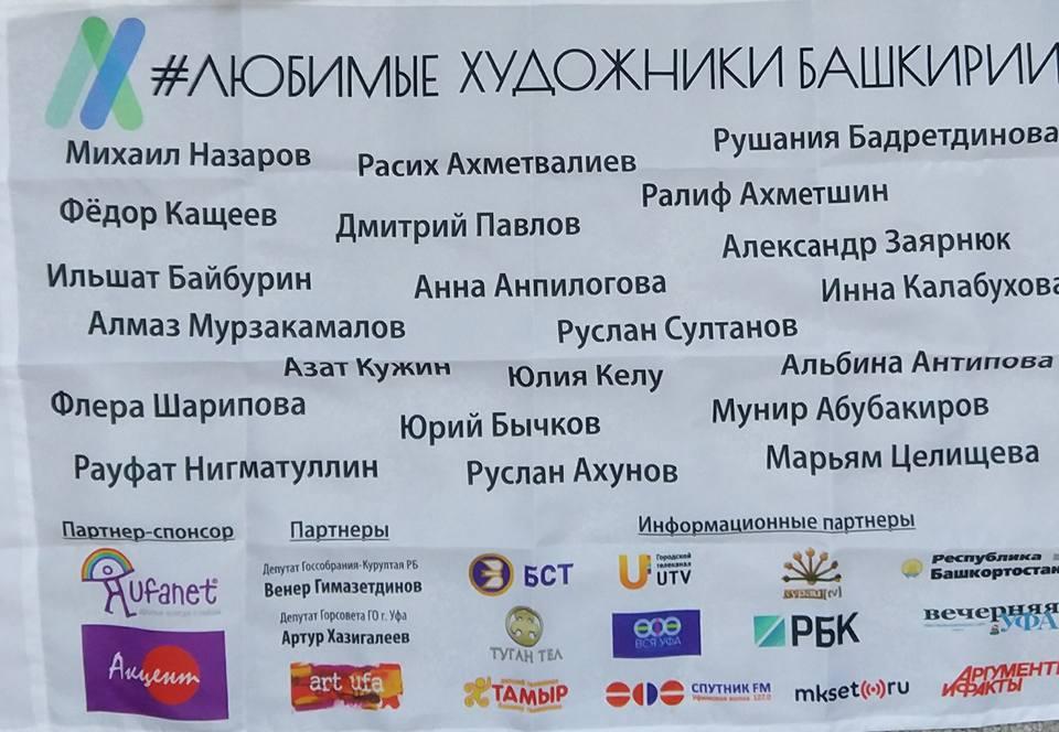 Флаг с именами победителей проекта «Любимые художники Башкирии» установят на Северном полюсе