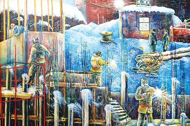 «Сварщики», Дмитрий Павлов, лауреат проекта «Любимые художники Башкирии»