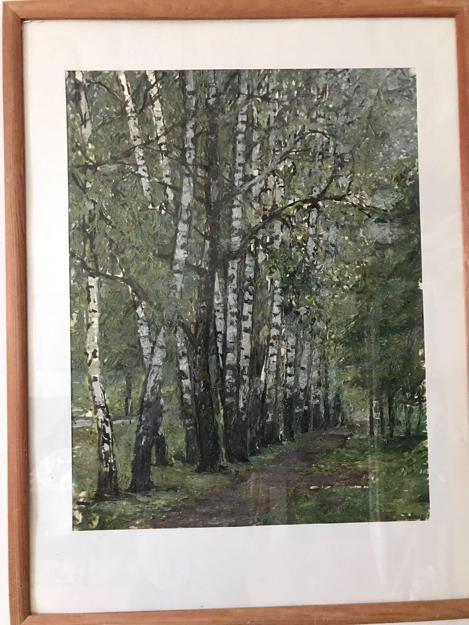В гостях у художника Анвара Кашаева