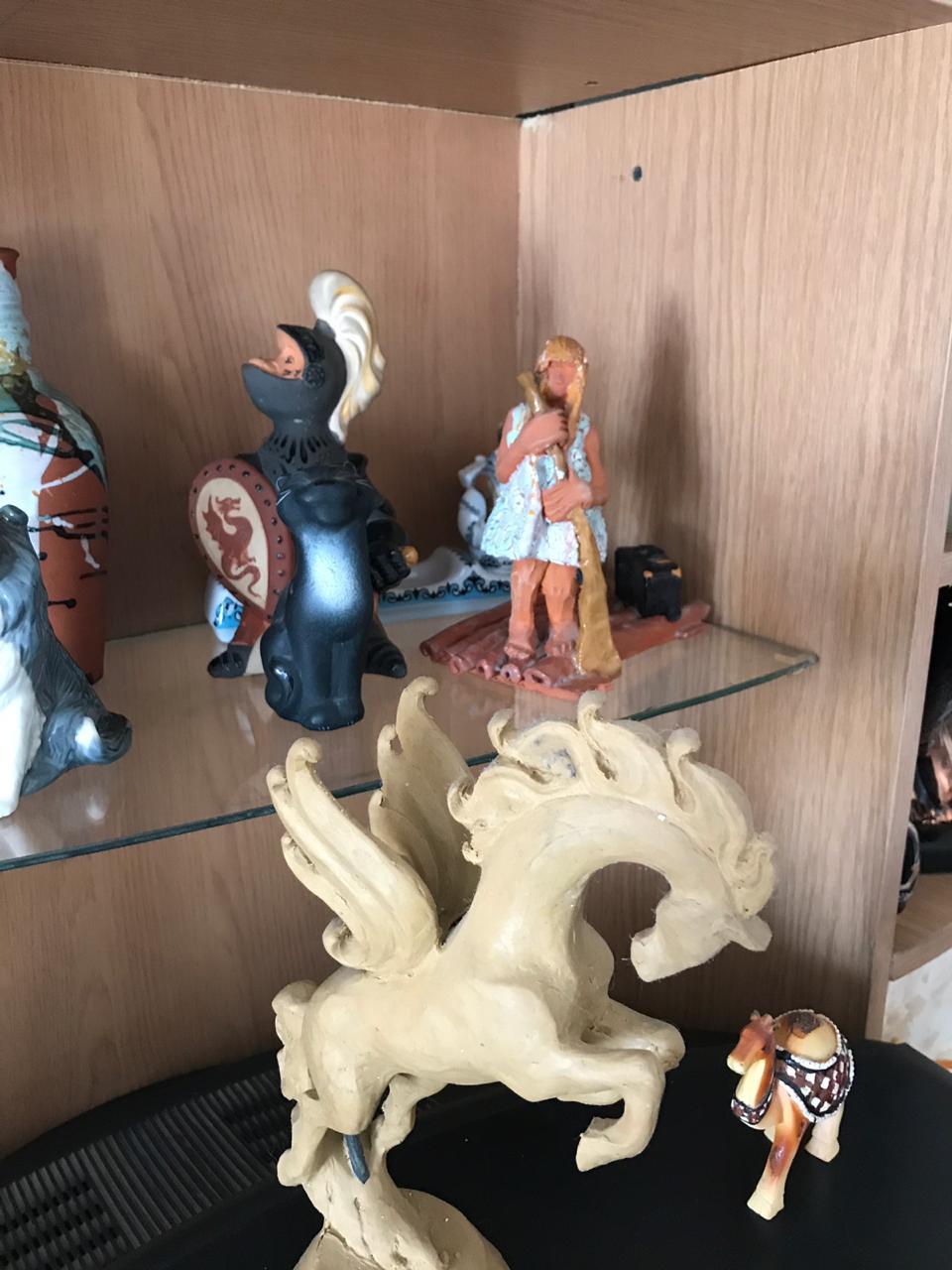 В гостях у башкирских скульпторов и художников Рафаэля Сатиева и Вилура Шакирова