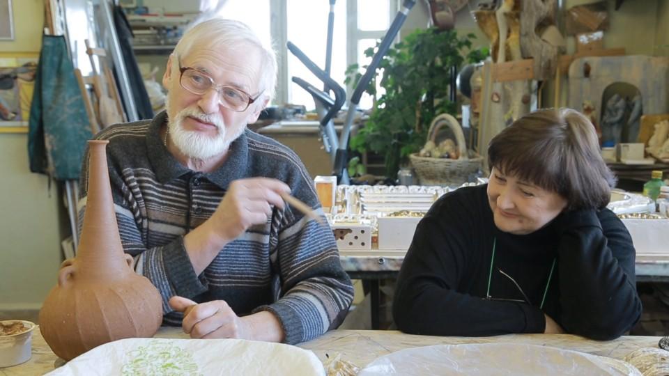 Художники-керамисты Михаил и Ирина Таран