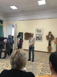 Открытие персональной выставки Рустяма Фаткуллина: декоративная скульптура и живопись