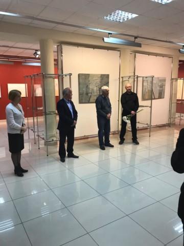 Открытие персональной выставки талантливого башкирского живописца и скульптора-медальера Ильдара Валеева