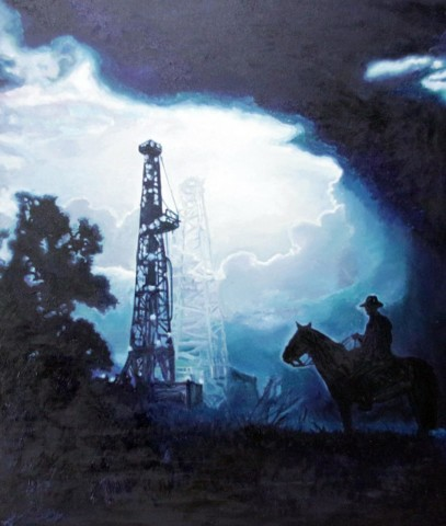 Картины нефтью: творчество художника-самородка Марселя Шайдуллина