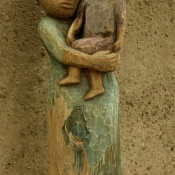 «Женщина с ребёнком», Евгения Кудрина