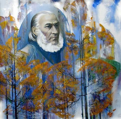 «Осень в Уфе С.Т.Аксаков», Вакиль Шайхетдинов