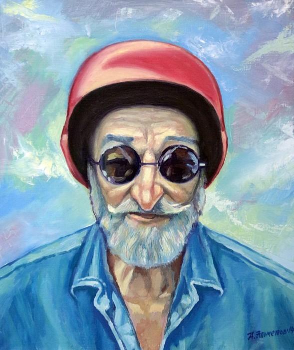 «Портрет Владимира Жигулина», Айдар Альметов, 2014