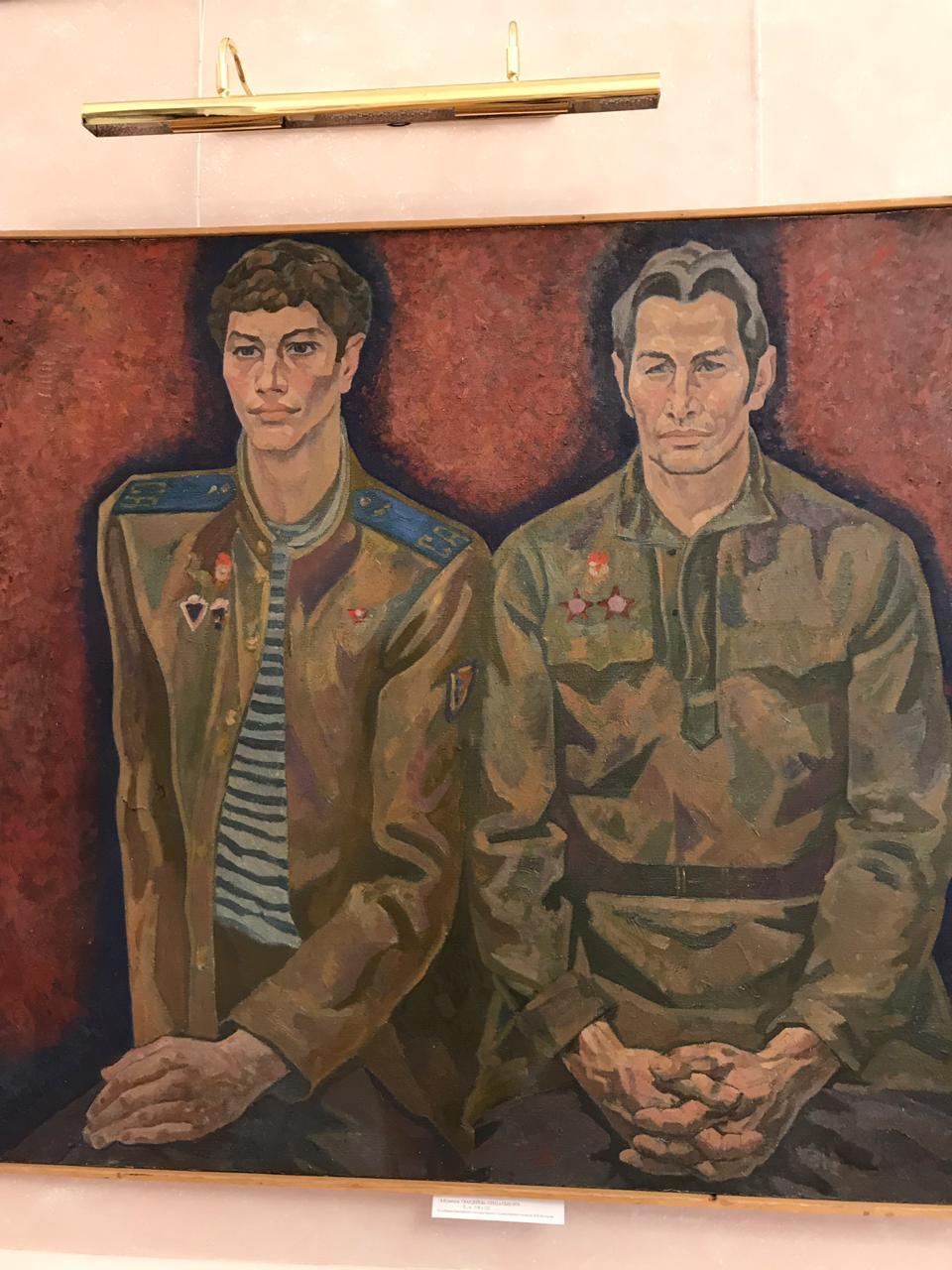 «Мы этой памяти верны»: открытие выставки, посвященной Дню Победы