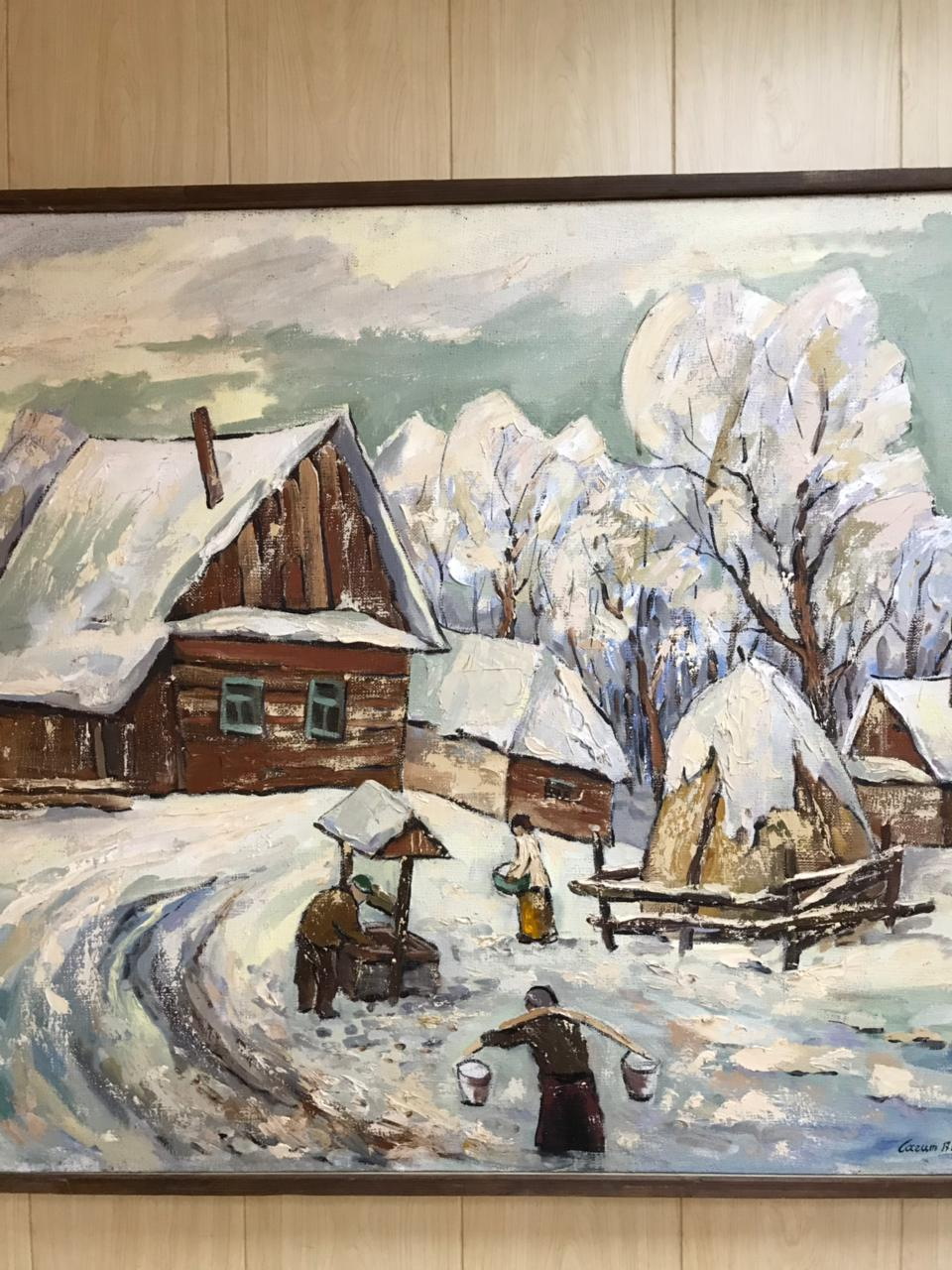 В гостях у башкирского художника Сагита Гималетдинова