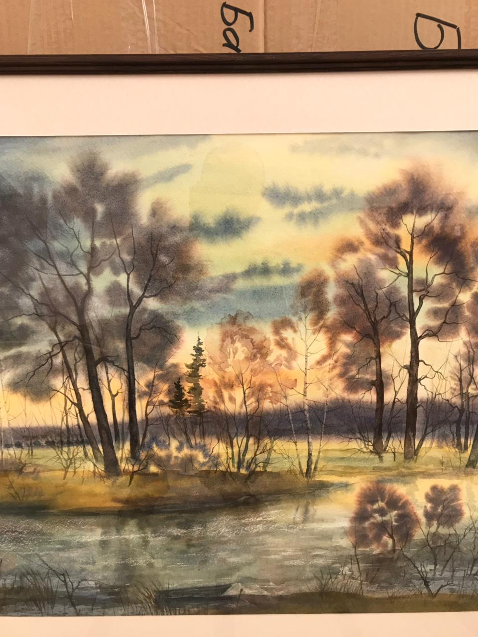 Картины башкирского художника Юлая Басареева