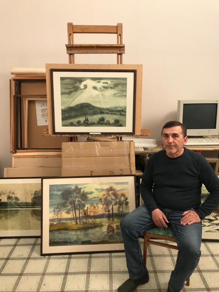 В гостях у башкирского художника Юлая Басареева