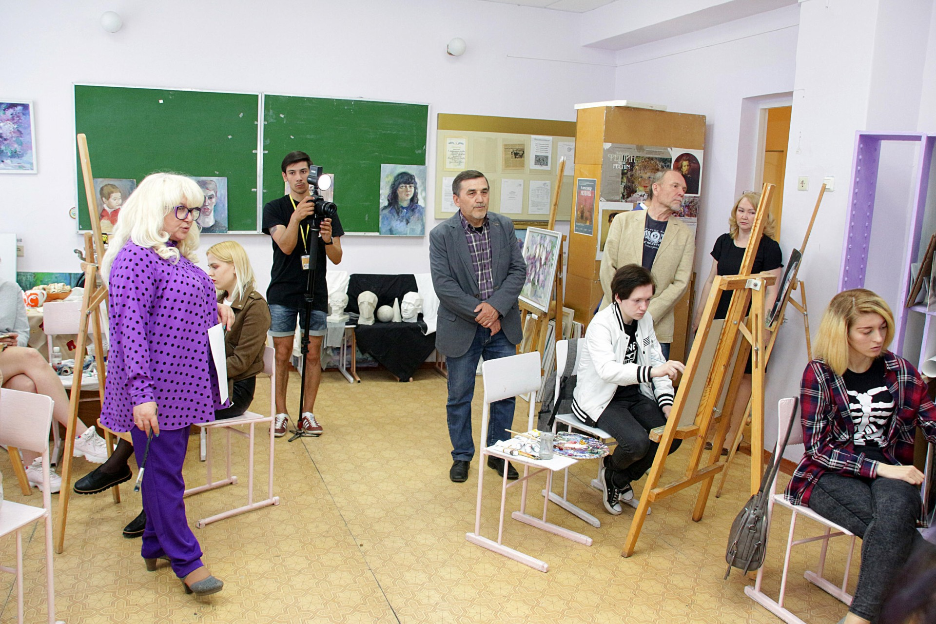 «Художники твоего города»: большая встреча-концерт с художниками в Стерлитамаке