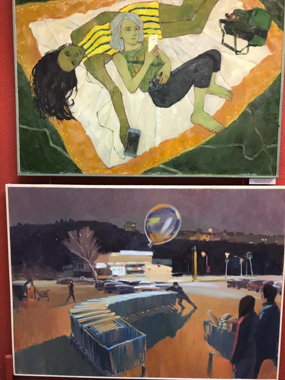 Открытие выставки «Молодые художники Башкортостана»