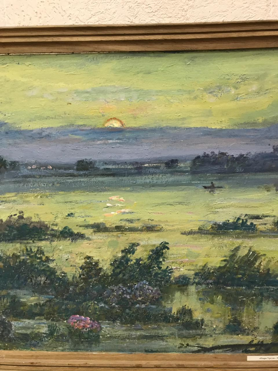 «На земле предков»: открытие персональной выставки художника Владимира Панченко