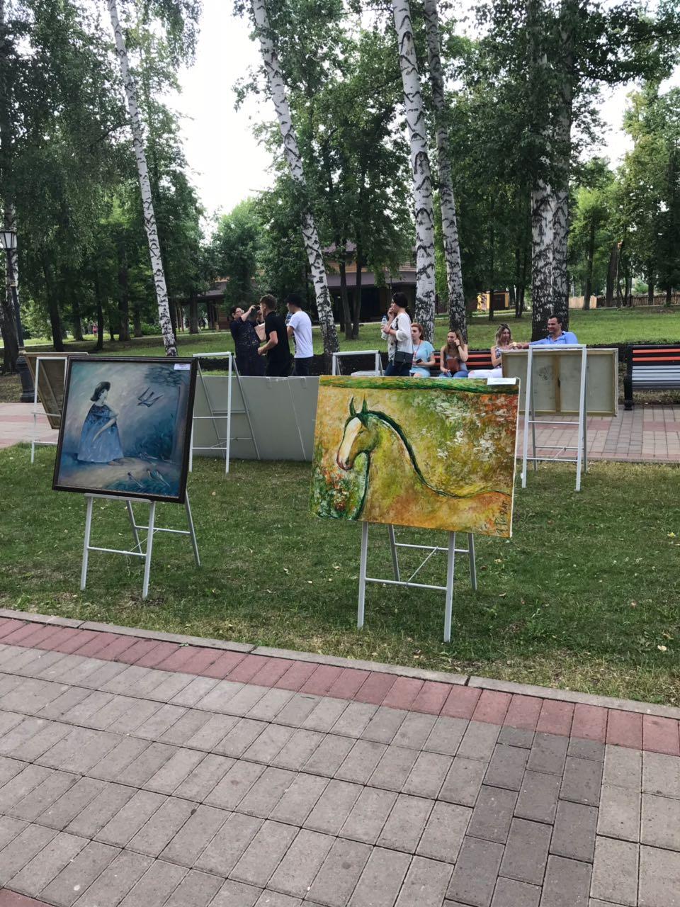 Прекрасный союз музыки и живописи: проект «Любимые художники Башкирии» на концерте «Марафон классической музыки» в г. Салават