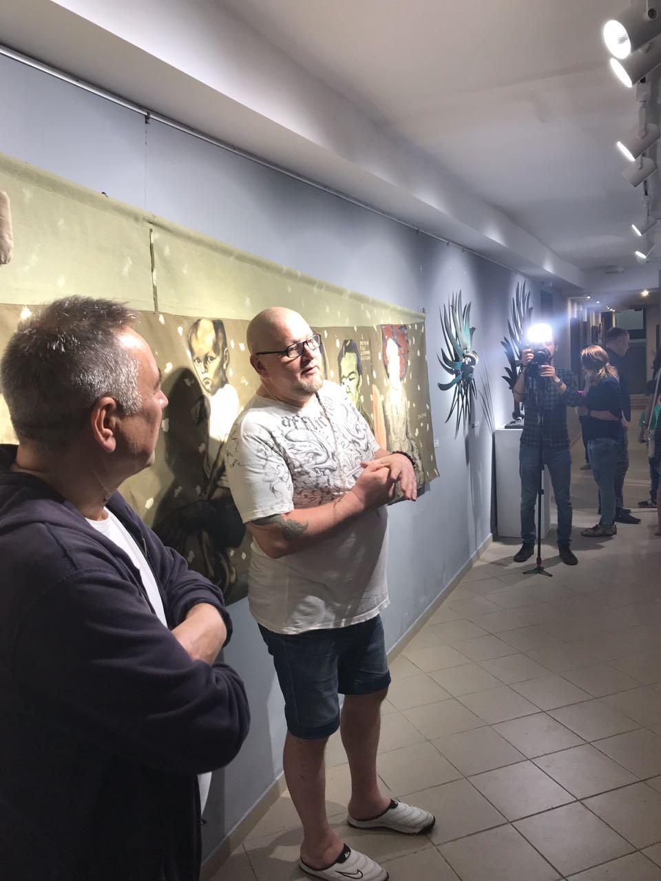 «Оддохни, старичок!»: открытие выставки памяти художника Наиля Байбурина