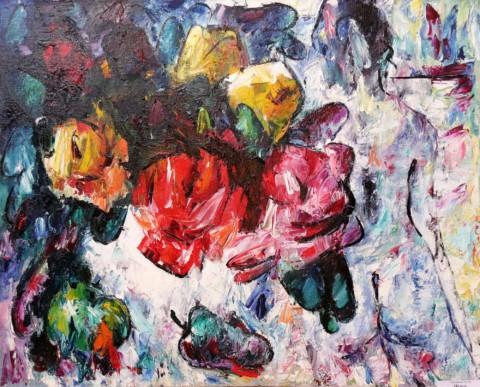 «Модель», Юрий Уждавини, 2003, холст, масло