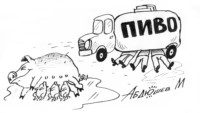 Карикатуры от художника Марата Абдюшева