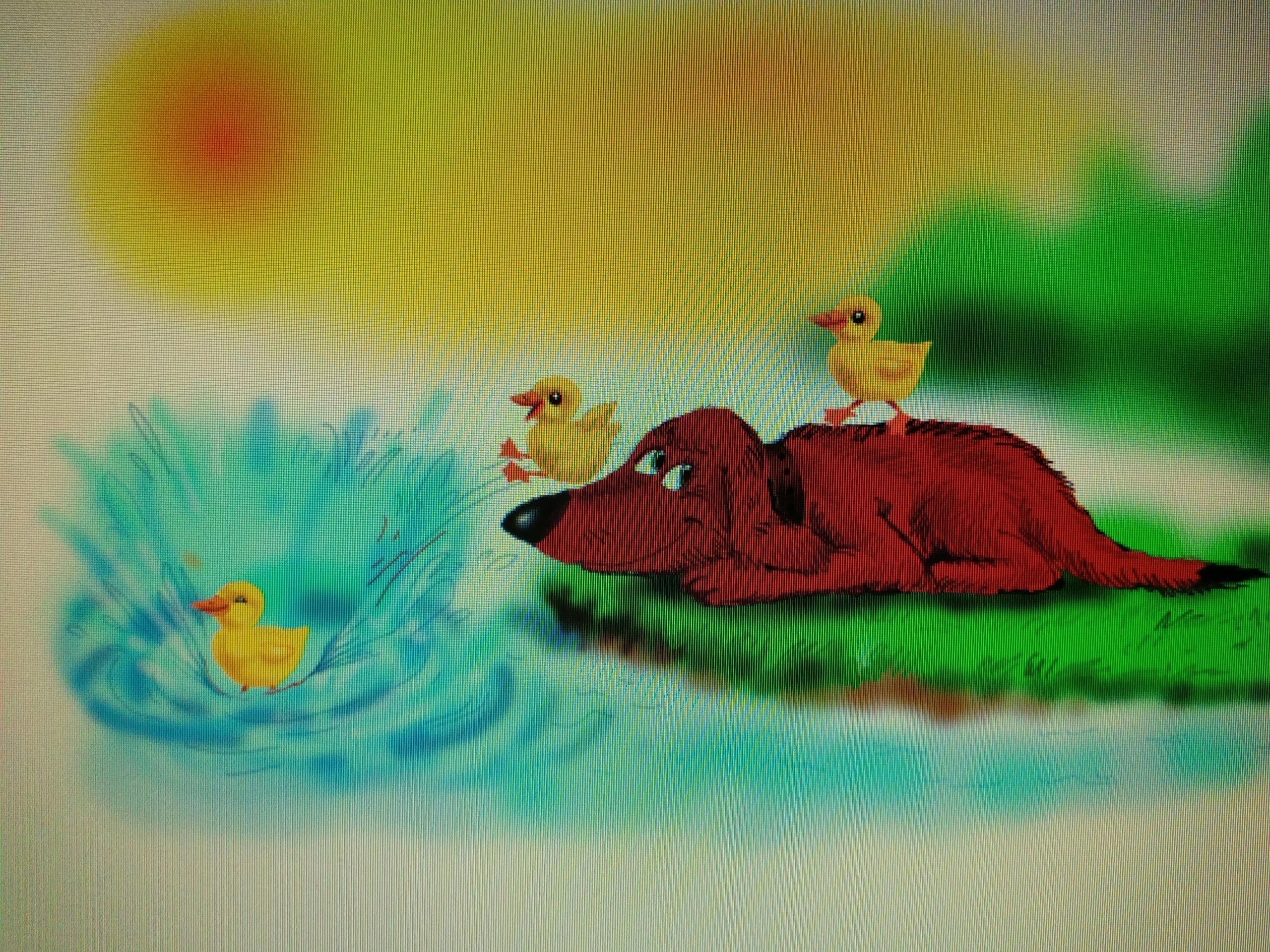 Оформление детских книг от художника Марата Абдюшева